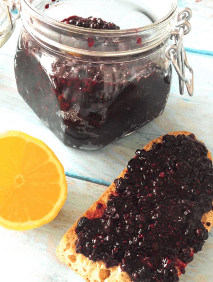 Elderberry Chia jam