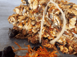 Paleo Protein Energy Bar with Calendula