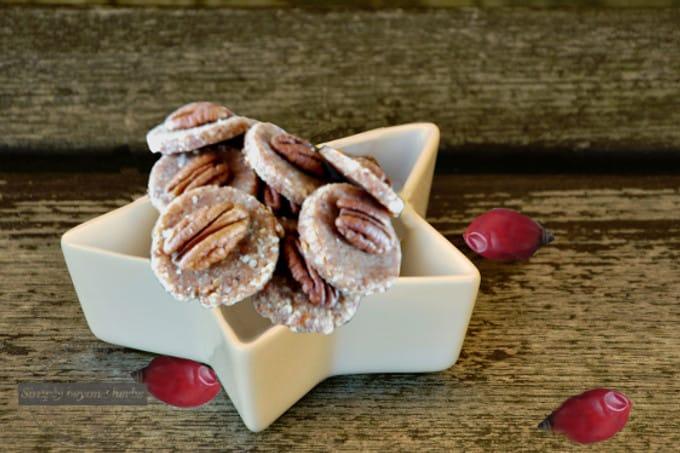 Rose hips cookies christmas