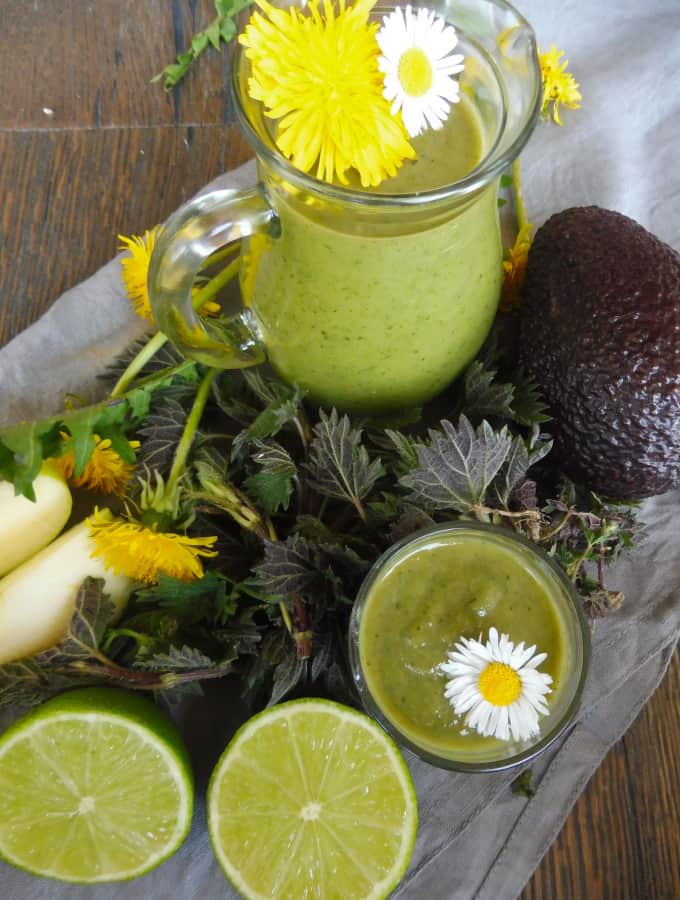 how to make cleansing smoothie