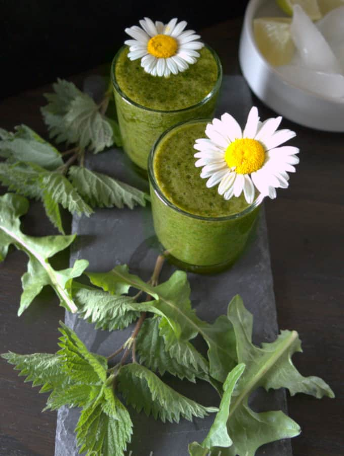 Green smoothie to cleanse your body