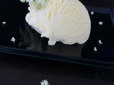 Smooth & delicious Elderflower Ice cream