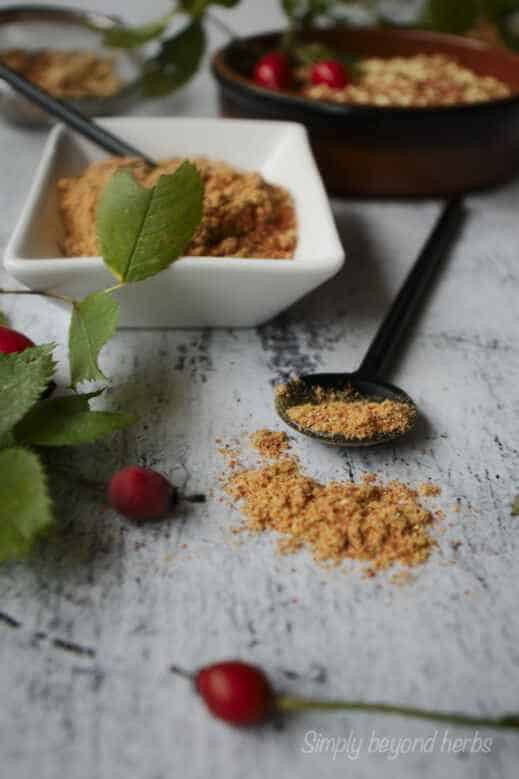 How to eat rosehip powder?