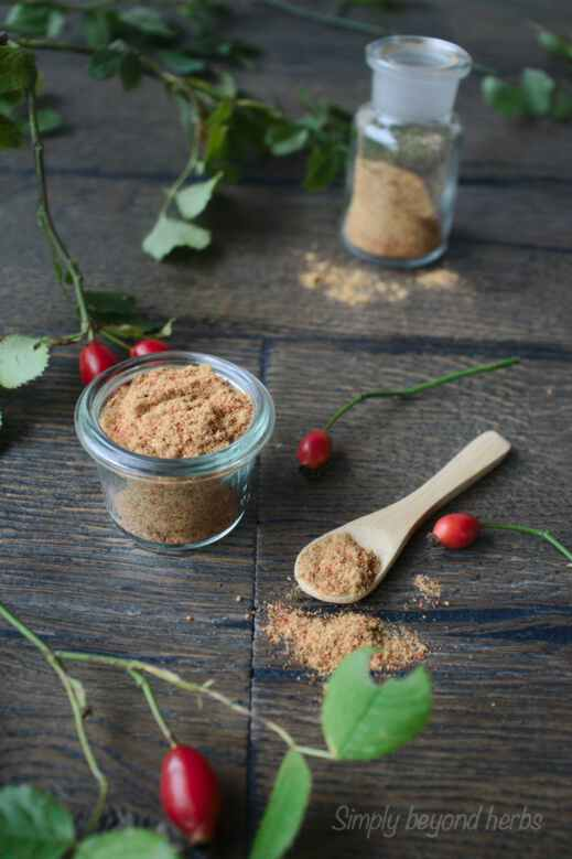 use rosehip powder in skincare