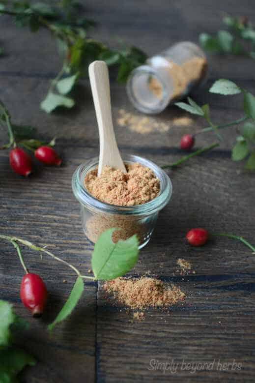 diy rosehip powder