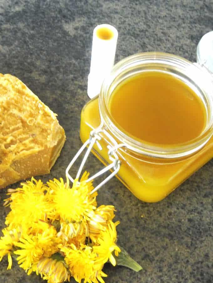 profile image of dandelion salve and lip balm