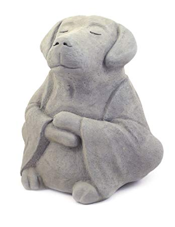 Modern Artisans Meditating Dog -