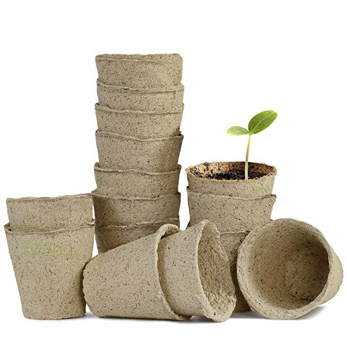 Floro Seed Starter Peat Pots Kit,