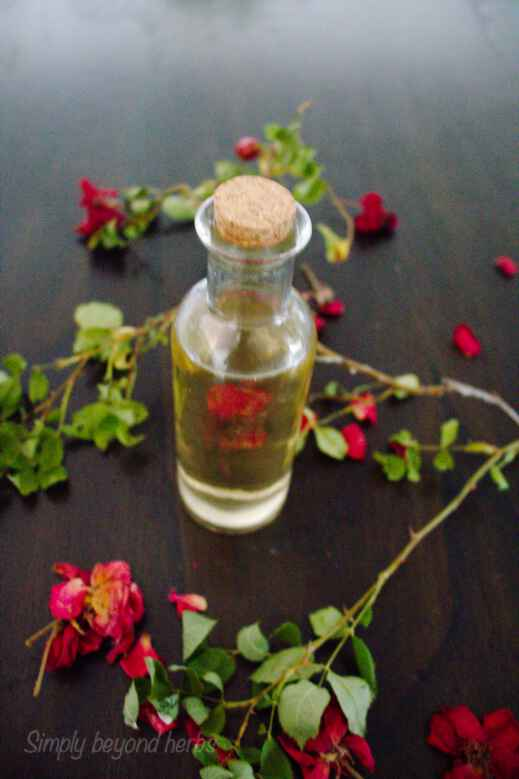 rosewater for your hair