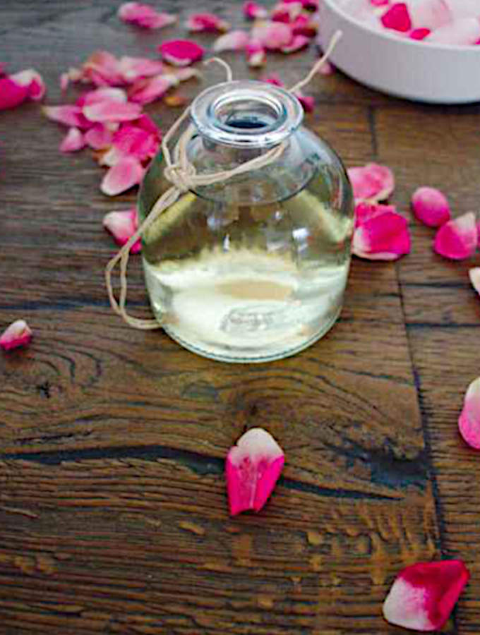 rose water hydrosol - how to make