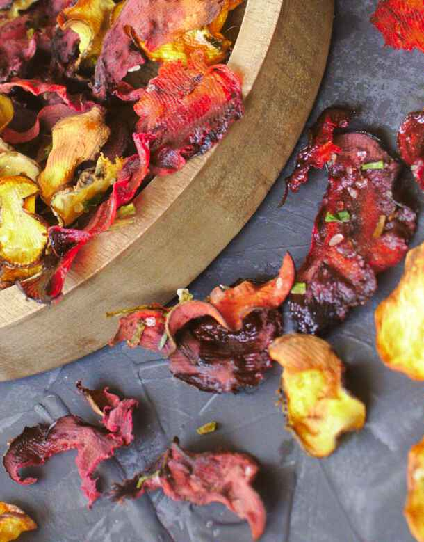 vegetable chips - beets
